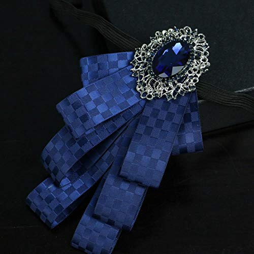 ZhiGe Bow Ties,Groomsman Groom Diamond-Studded Suit Bow tie Wedding Wedding high-end Bow