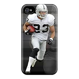 Hard Protect Phone Cases For Iphone 6plus (maq12498xolz) Customized Attractive Oakland Raiders Pattern