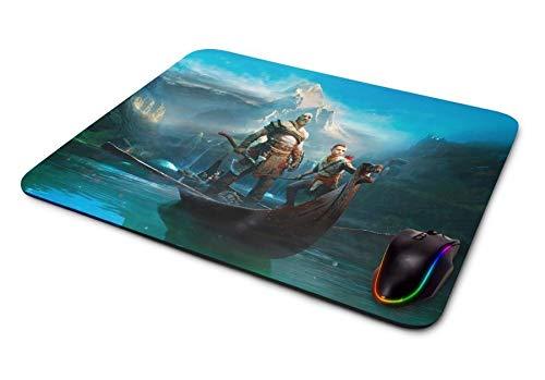 Mousepad Gamer God of War Kratos e Atreus Ii