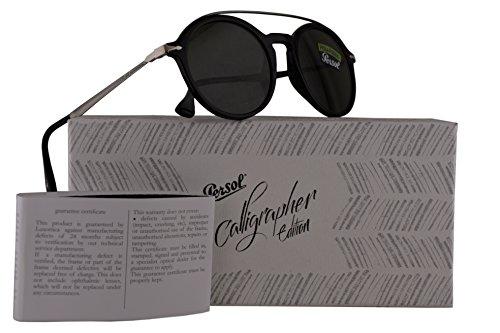 Persol PO3172S Calligrapher Edition Sunglasses Black w/Polarized Dark Green Lens 51mm 9558 PO 3172-S PO3172-S PO - Sunglasses Persol Polarized Sale