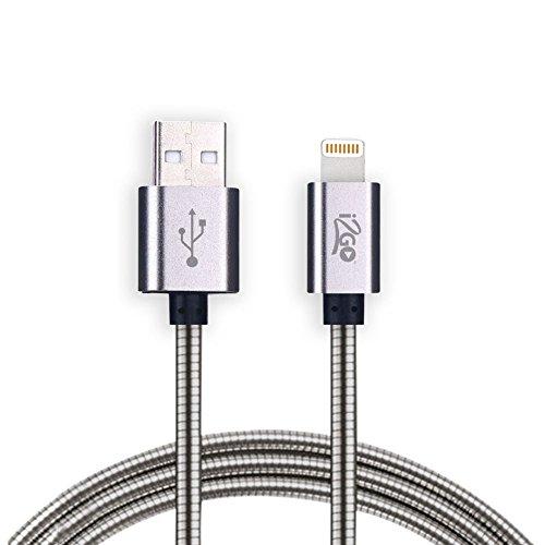 Cabo Lightning para iPhone, i2GO, Metallic, I2GCBL925, MFI, Metal