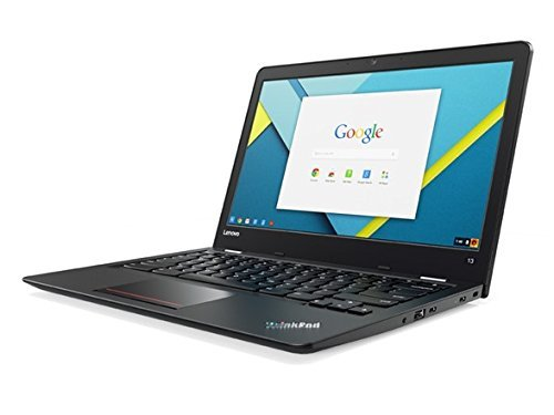 "Price comparison product image Lenovo Thinkpad 13"" Full HD IPS 1080P Chromebook, Core i3-6100U 2.3GHz, 4GB RAM, 16GB eMMC, 802.11ac, Bluetooth, USB-C, HD Webcam, Chrome OS"