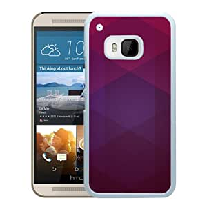 Layers And Shades Of Purple (2) Durable High Quality HTC ONE M9 Phone Case