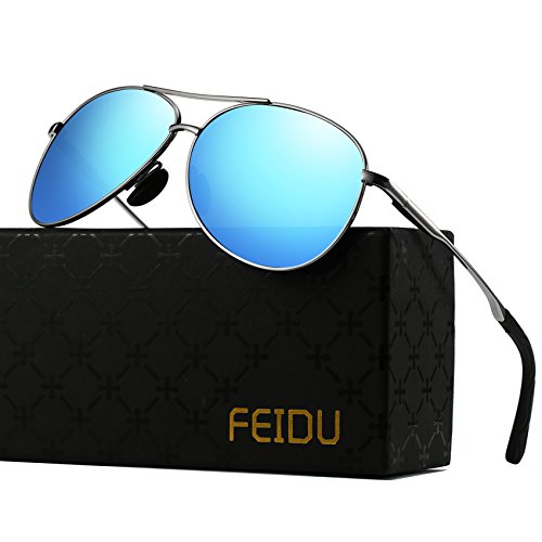 ce3d4afd17e2d Polarized Sunglasses Aviator Sunglasses for Men - FEIDU Polarized Aviator  Sunglasses for Men Sunglasses Man FD9002