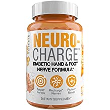 NeuroCharge - Hand and Foot Neuropathy Support Formula for Diabetics