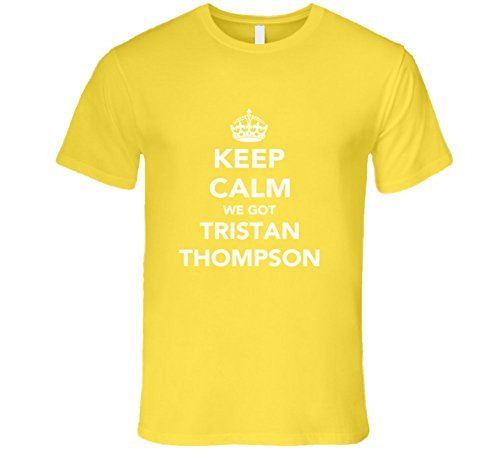 Mad Bro Tees Tristan Thompson Keep Calm Cleveland Basketball Fan Mens T Shirt L Daisy