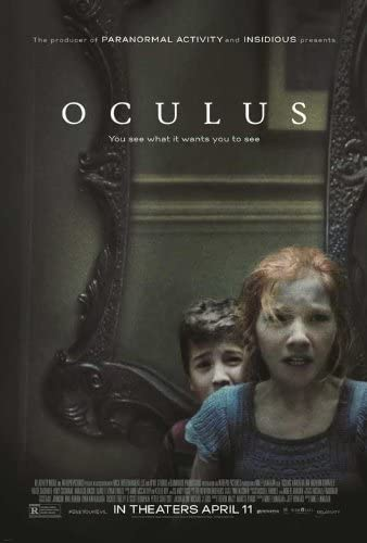 Amazon.com: Oculus (2014) 11 x 17 Movie Poster - Style B: Posters & Prints