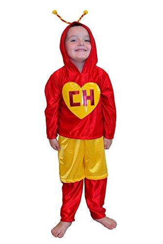 Chapulin Colorado Chavo del ocho Party Costume Kids Child T2 T4 T6 T8 T10 T12 -