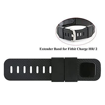 Baaletc Extender Band Compatible for Fitbit Charge 2/3/Fitbit Charge/HR  Fitbit Versa Fitness Tracker Wristbands - Designed for Larger Size Wrists  or