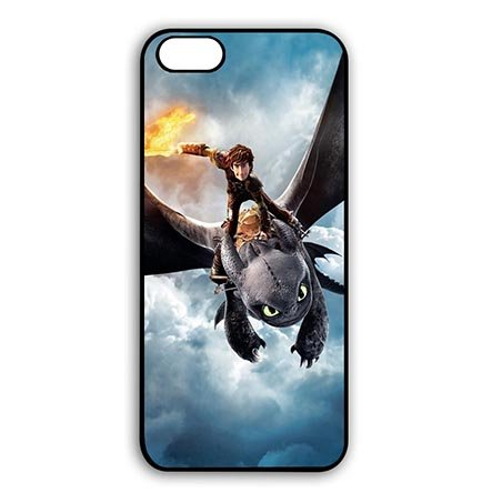 iPhone 6 PLUS - iPhone 6S PLUS(5.5 Inch Screen) Anti Slip Casing for How to Train Your (Httyd Astrid Costume)