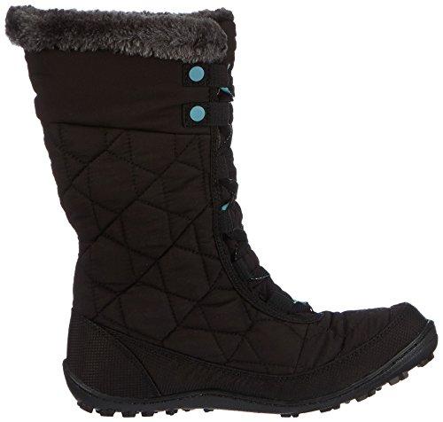 Columbia Youth Minx Mid Ii Waterproof Omni-heat - Zapatillas De Deporte Para Exterior Niñas Negro Schwarz (Negro/Iceberg 010)