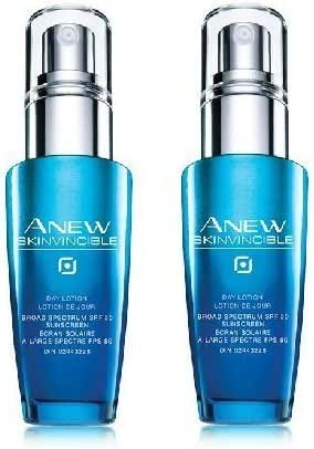 Avon Anew Lot of 2 Skinvincible Day Lotion SPF 50