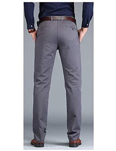 Completo Office Business Uomo Tinta Pants Dritta Autunno Unita Chino Spring Casual Targogo Pantaloni Long Slim Gamba Armeegrün 1pvqwYYUF
