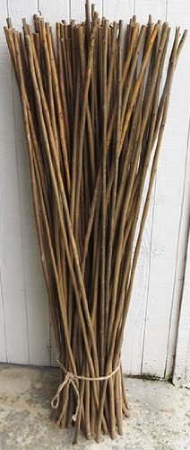 Regular Brown Willow Stick Bundle, 20 Pcs Bundle, 48' L