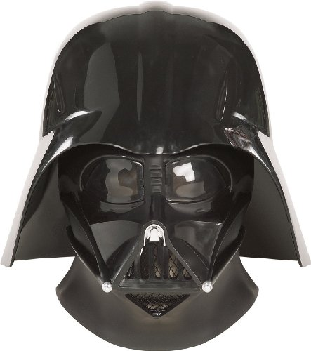 Darth Vader Face Mask (Rubies Darth Vader Supreme Edition Star Wars Helmet Costume Mask)