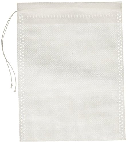 Special Tea 500 Count Woven Style Draw String Bag, X-Large/4.72'' x 6.29''/120 x 160mm, White by Special Tea