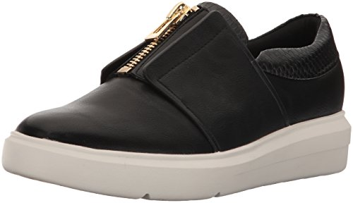 Aldo Women's Afaossi Fashion Sneaker, Black Synthetic, 8.5 B US