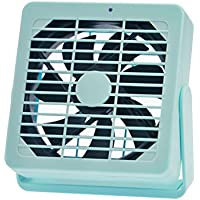 Mini Fan AXESX Small Desk Fans Desktop Personal Fan with 2 Speed Cool Small Desk Fan for Home and Office Moves a Lot of Air, Quiet in Low Speed (Green)