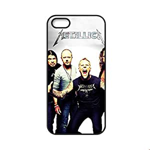 Design With Metallica For Apple Iphone 5 Ip5S Plastic Phone Case For Man Choose Design 3