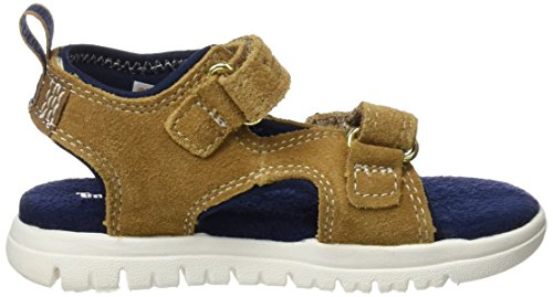 Timberland CA1LM8, Sandalias Bebés Multicolor (Rubber Hammer Ii Suede)