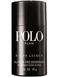Polo Black by Ralph Lauren for Men, Alcohol-Free Deodorant...