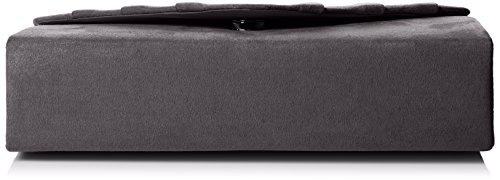 Prom Charcoal Black Clutch Party Iggy Clutch SwankySwans Bag Velvet Women's Envelope Suede qRwxY1P