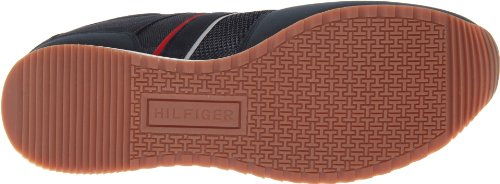 Tommy Hilfiger Hombres Marcus Fashion Sneaker Dark Blue Fabric