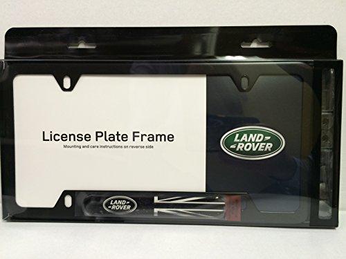 genuine-land-rover-black-jack-license-plate-frame-matte-black-finish