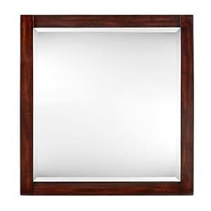 """Lexi Mirror, 32""""Hx30""""W, DARK WALNUT"""