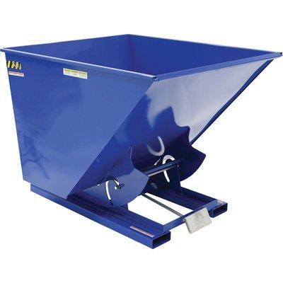 2 Cu. Yd. Self-Dumping Steel Hopper with Bump Release, 4000 Lb., Vestil D-200-MD, Lot of 1 by Vestil