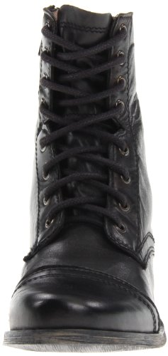 Leather Men's Madden Troopah Black Boot Up Steve Lace W50wxdR7q