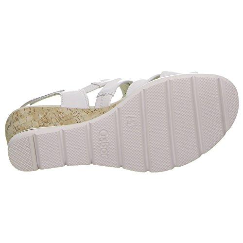 Gabor Donne Sandalette Bianco