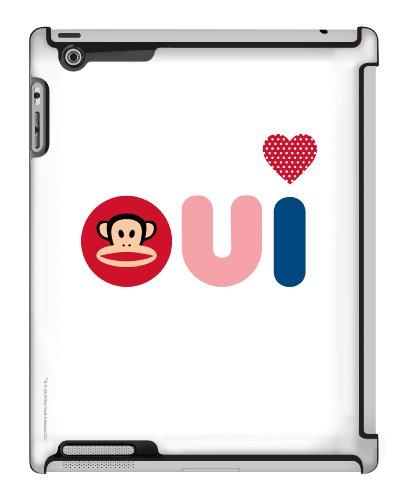 Paul Frank Friendly French Julius Deflector Hard Case for iPad 2/3/4, Multicolored (C0005-HC) -