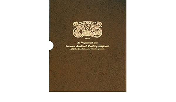 """Dansco Quality Album Slipcase 1 1//8/"""" Coin Protection Corrosion Inhibiting Cover"""