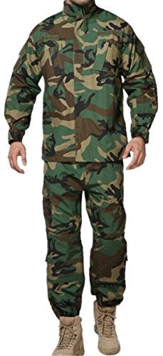U.S. Military Army Classic Thicket Digital Camouflage Uni...