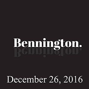 Bennington, Ali Wong, December 26, 2016 Radio/TV Program