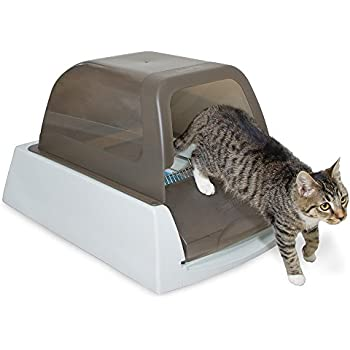 Amazon Com Catgenie Self Washing Self Flushing Cat Box