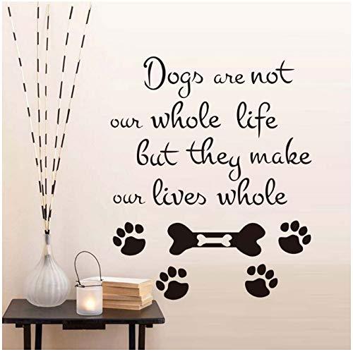 Los Perros No Son Nuestra Vida Entera Tatuajes De Pared Impresión ...