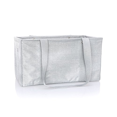 Frosted Tote (Thirty One Medium Utility Tote - 4121 - Frosted Metallic)