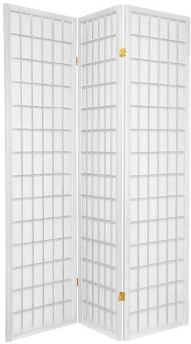 Legacy Decor 3-panels Shoji Screen Room Divider, White 71