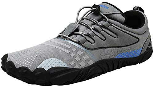 Zcoli Barefoot Trail Running Shoes Women Men Minimalist Cross Training Sneakers for Outdoor Athletic Fitness