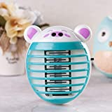 OrchidAmor LED Socket Electric Mosquito Fly Bug Insect Trap Killer Zapper Night Lamp Lights 2019 New Fashion