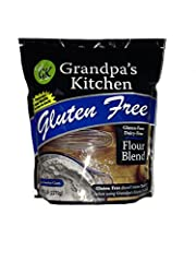 Grandpa's kitchen baking flour blend is a perfect combination of flours that give everything a smooth, light and fluffy texture when substituted for wheat flour.