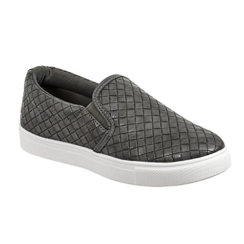 Woven Sneaker Ladies Slip Pierre 1 Dumas Traveler Gray On zq4ZZx7w