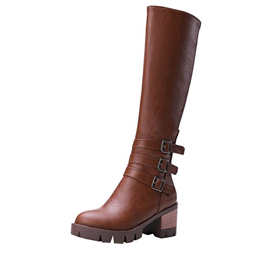 Tall Motorcycle Boots - 5