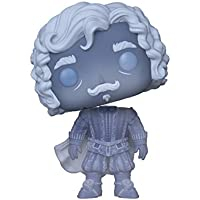 Funko Pop: Harry Potter-Nearly Headless Nick (Blue Translucent) Collectible Figure, Multicolor