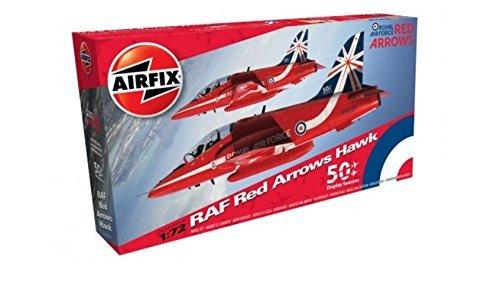 Airfix (Airfix) 1/72 BAe Red Arrows Hawk Model -