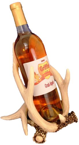 tle Holder (Antler Wine Bottle Holder)