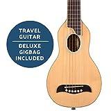 Washburn Rover 6 String Acoustic Guitar Right, Natural Full RO10SK-A