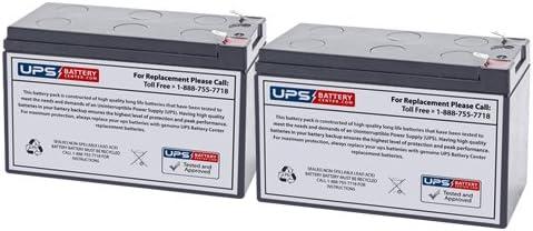 12V 7.2Ah F2 Sealed Lead Acid Replacement Battery for Tripp Lite SmartOnline 120V 1kVA 800W SU1000XLA by UPSBatteryCenter Set of 2